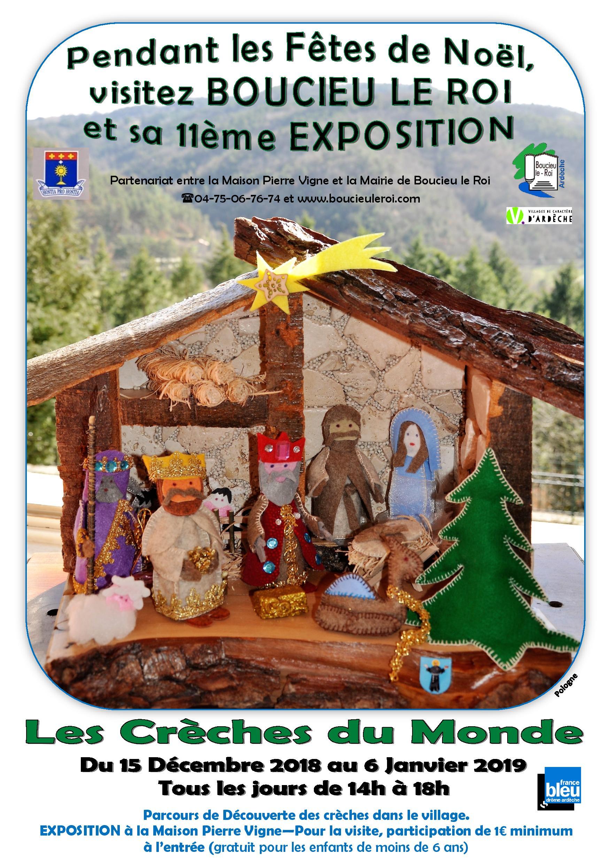 Exposition Des Creches Du Monde Boucieu Le Roi